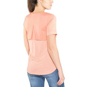 The North Face Inlux - Camiseta manga corta Mujer - naranja